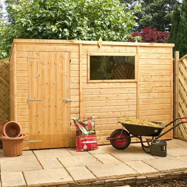 great value sheds summerhouses log cabins playhouses wooden garden sheds metal storage sheds fencing more from direct garden buildings 10 x 6 shiplap - Garden Sheds 6 X 2